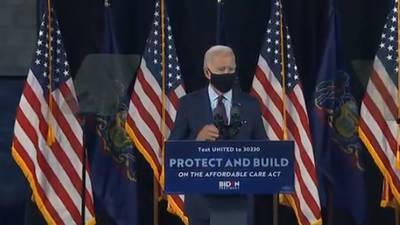 As new cases soar, Biden hits Trump on virus response