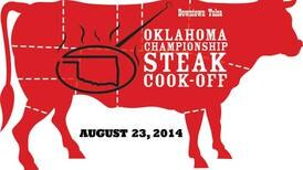 U.S., Oklahoma steak cook-off championships to prepare nearly 4,000 steaks in Tulsa on Aug. 22-23