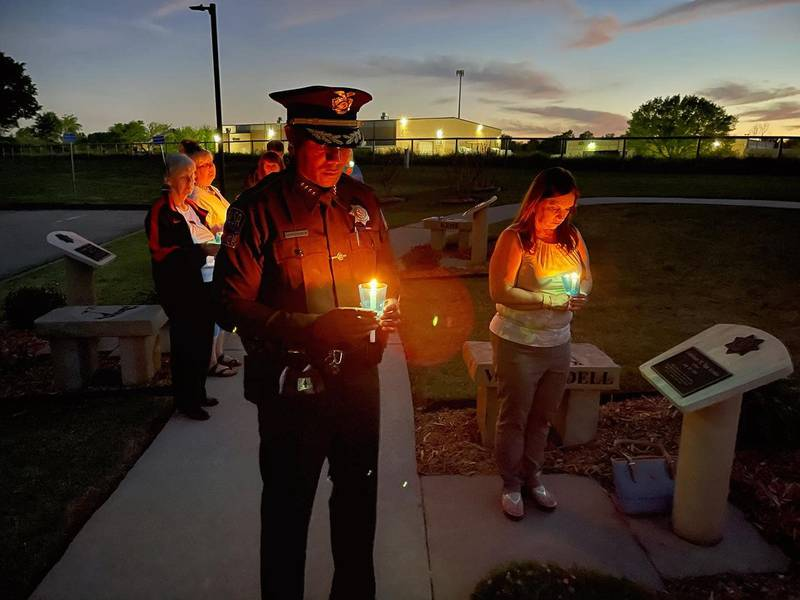 The Tulsa Police Officers' Memorial was held Saturday.