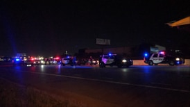Car pursuit ends with a foot chase on the Broken Arrow Expressway