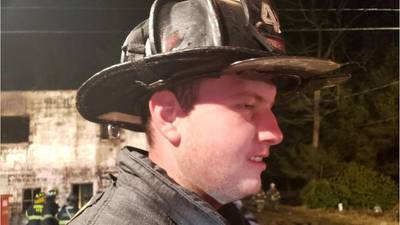 Off-duty firefighter hailed as hero after rescuing baby at park