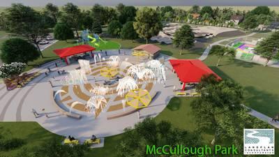 Renovation of Tulsa's McCullough Park begins