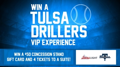Coors Light  VIP Tulsa Drillers Experience
