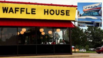 Mom ate at Waffle House with children locked in U-Haul, police say