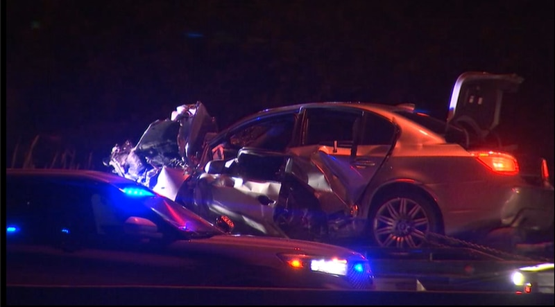 Three people are dead after a head-on collision on Highway 169 Monday night.