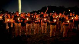 Fallen Tulsa Sgt. Craig Johnson honored during vigil in Washington