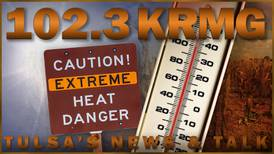 Brutal heatwave descends upon NE Oklahoma, with heat indices of 110 and above expected
