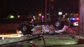 3 people hospitalized after bad crash in midtown